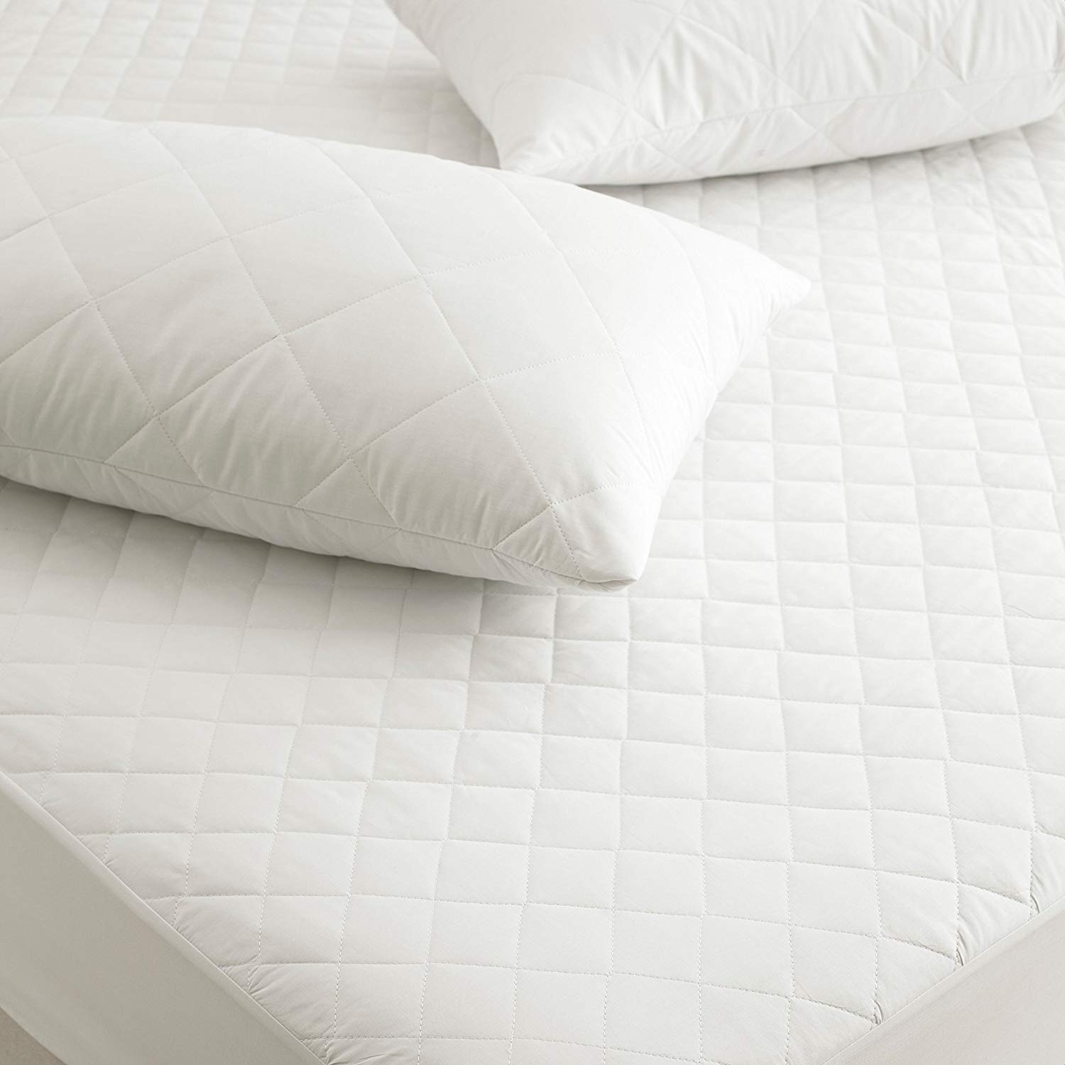 Pure Cotton Quilted Anit-Alergic Mattress Protectors