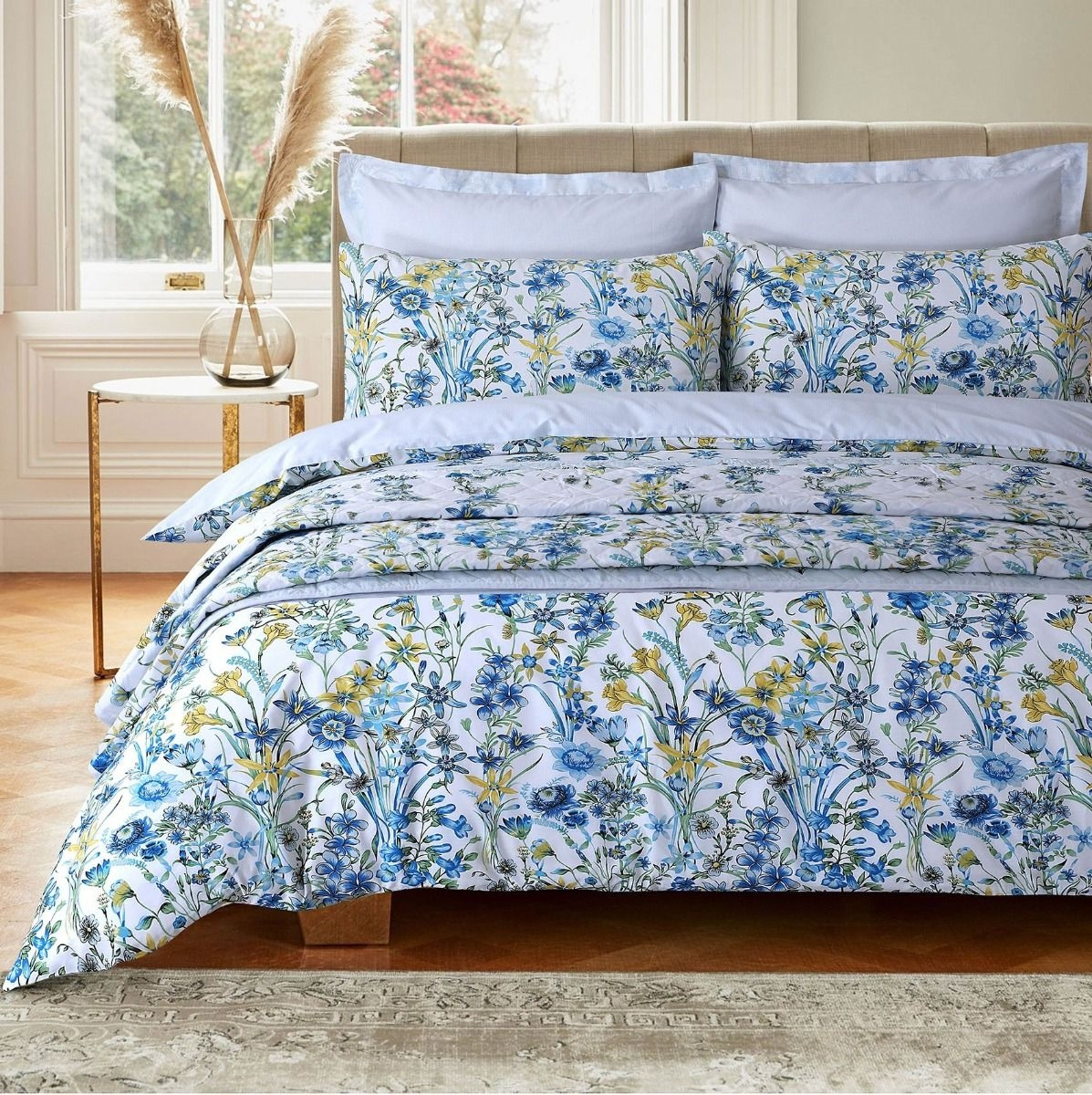 200 THREAD PRINTED BED LINEN