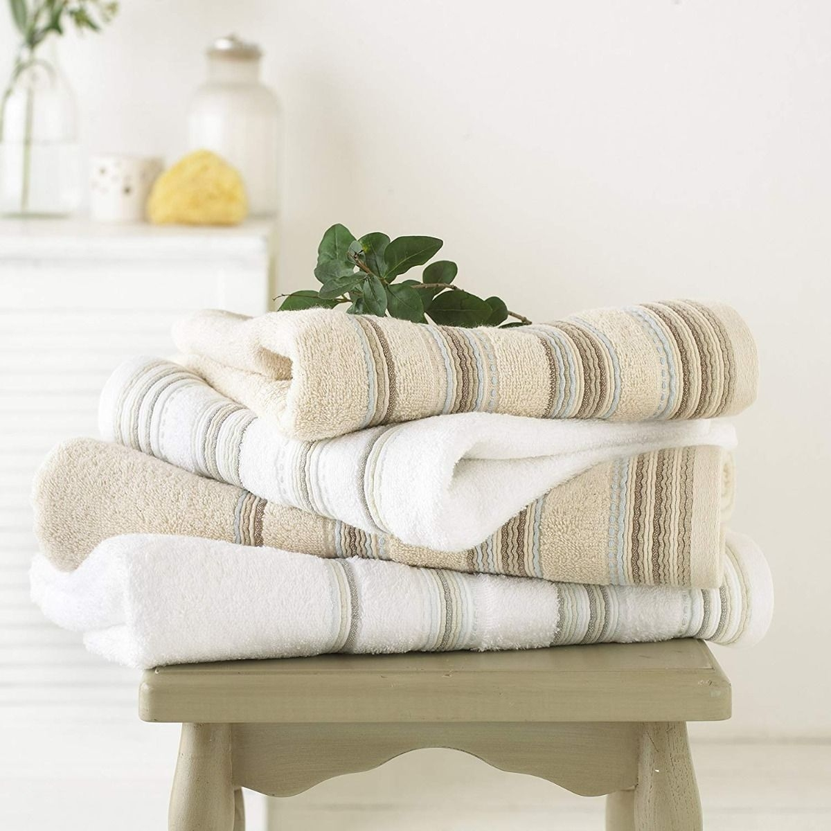 Ribbed Cotton Towel