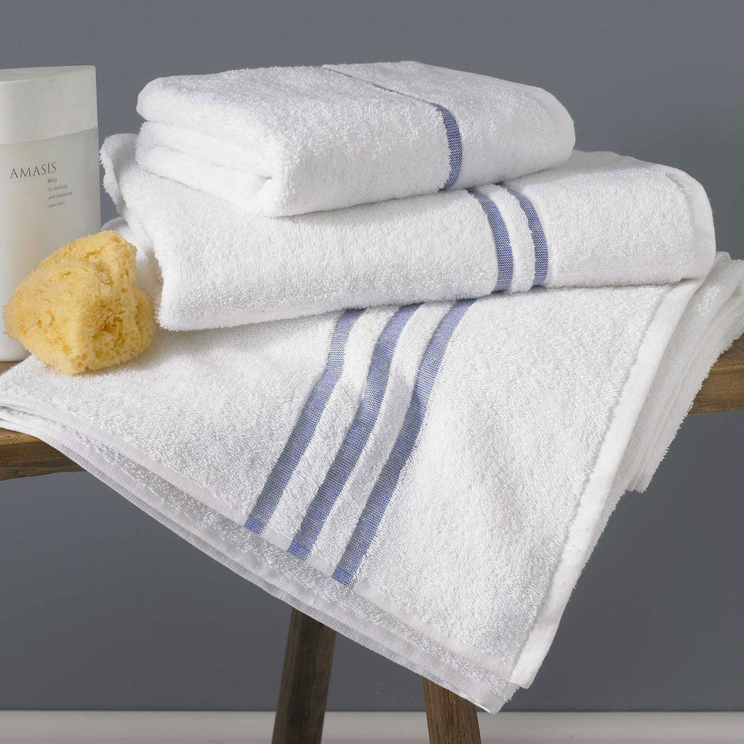 BLUE RIVER COTTON TOWELS