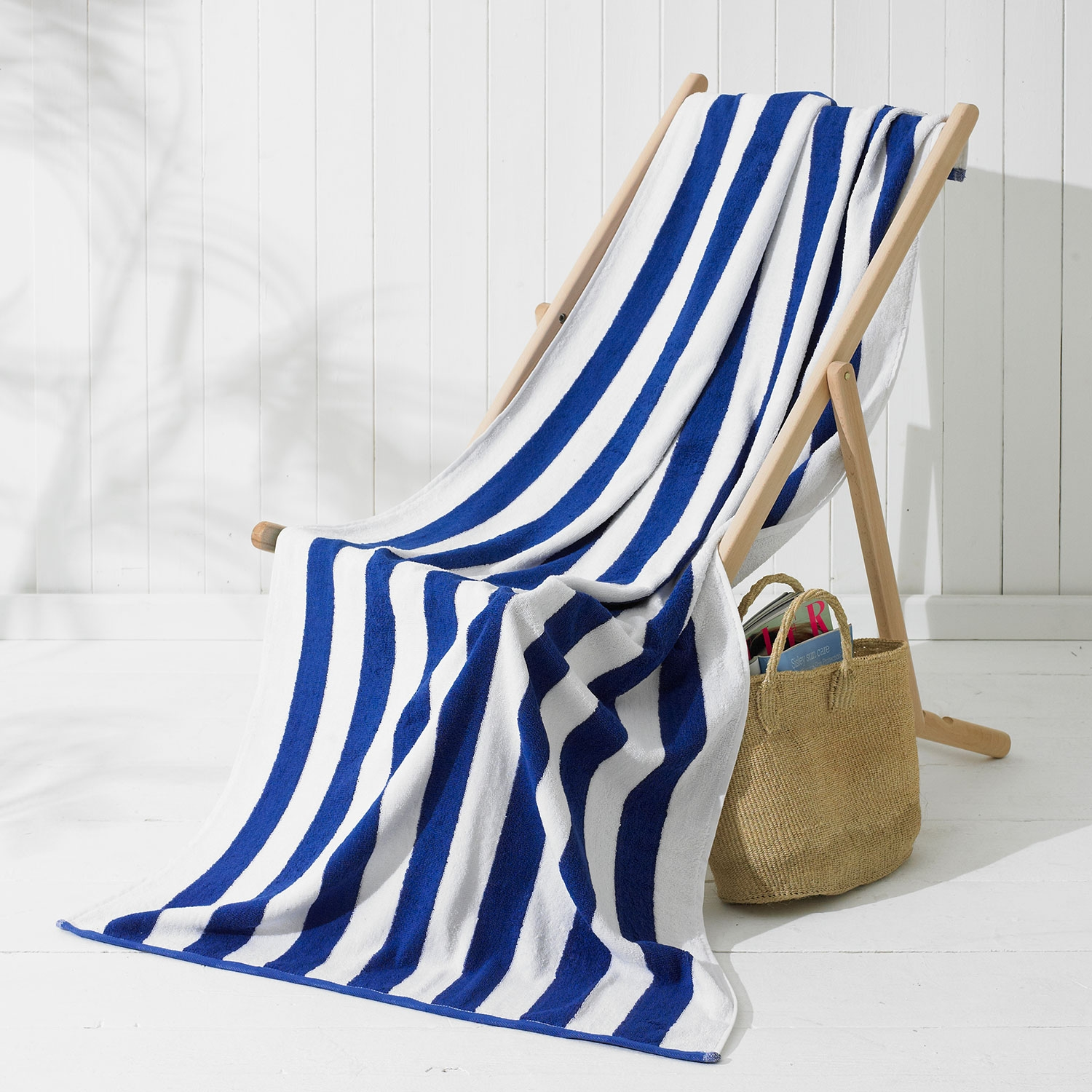 ISLAND STRIPE COTTON POOL TOWELS