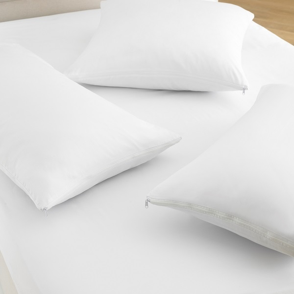 POLY COTTON PILLOW PROTECTORS