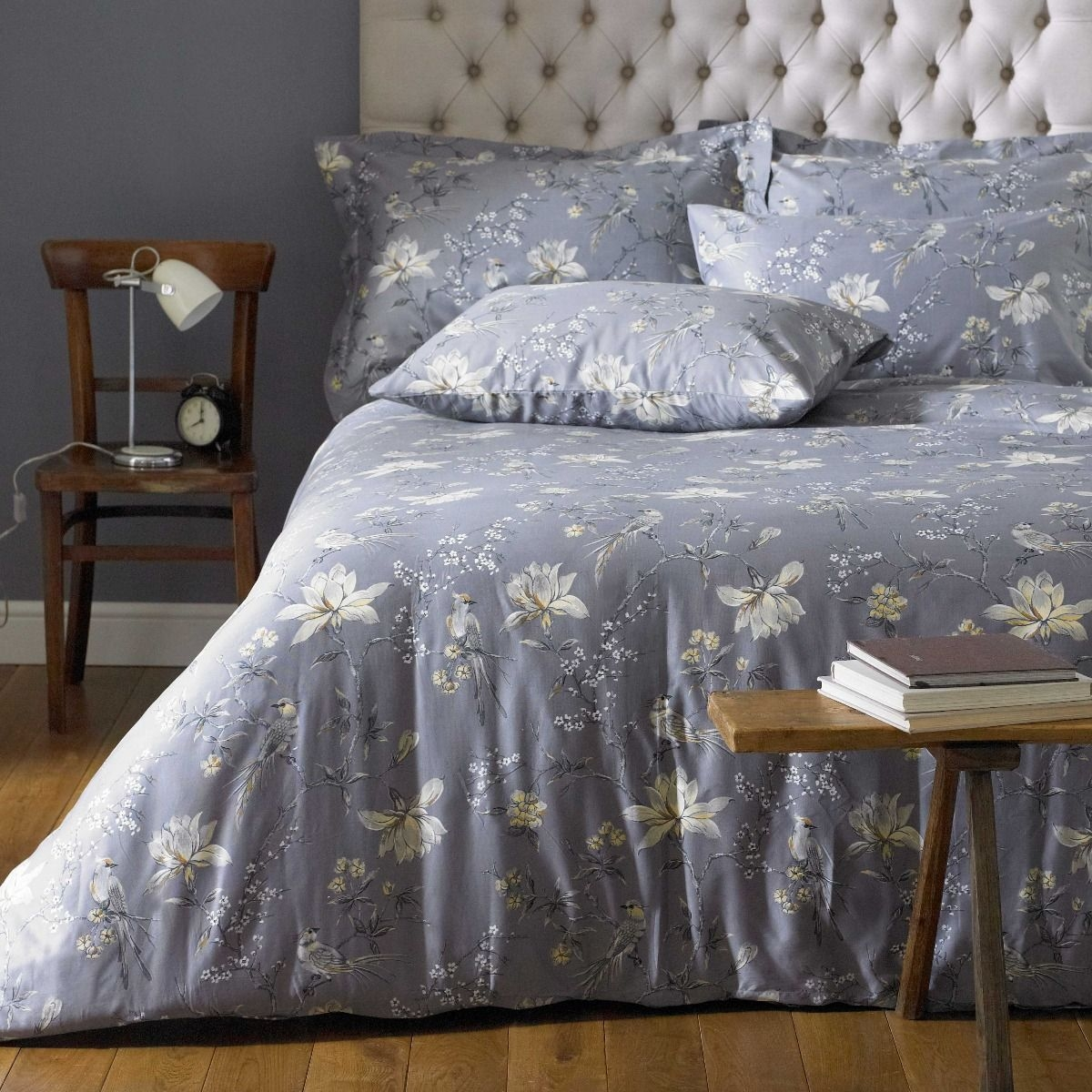 250 THREAD PRINTED BED LINEN