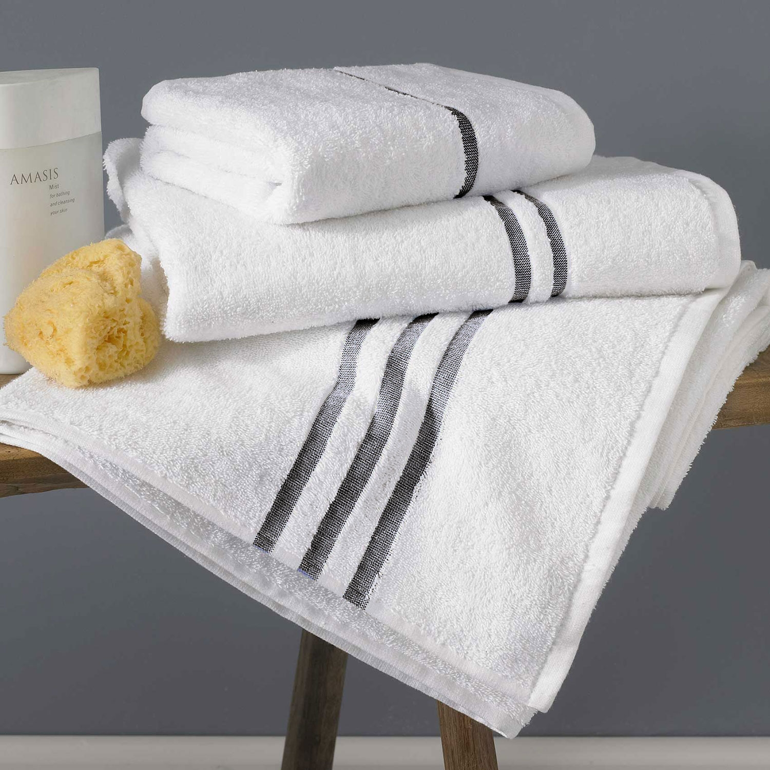 GRAPHITE CLOUD TOWELS