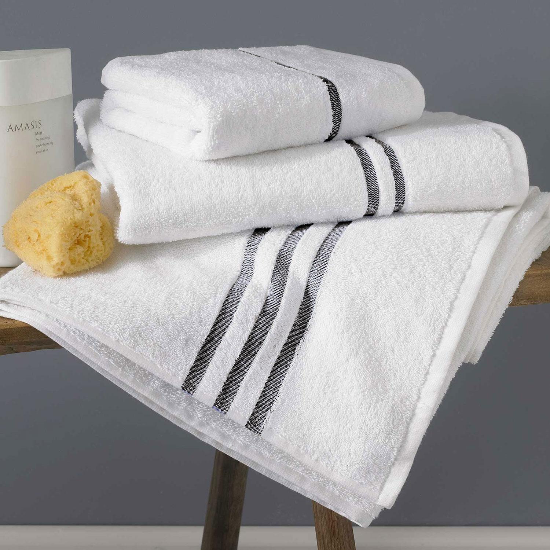 Graphite Cloud Towels