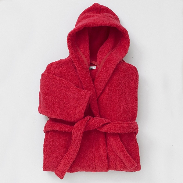 Kids Hooded Bathrobes